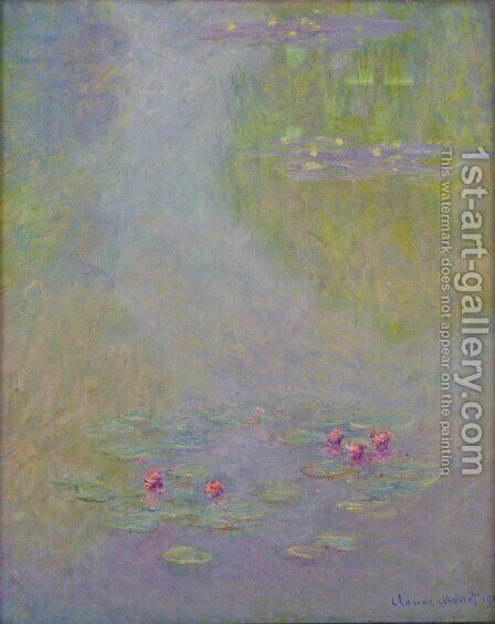 Water Lilies22 by Claude Oscar Monet - Reproduction Oil Painting