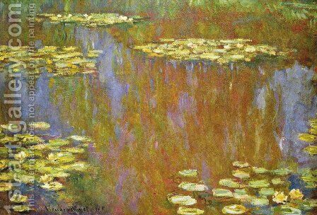 Water Lilies25 by Claude Oscar Monet - Reproduction Oil Painting