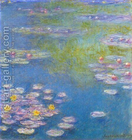 Water Lilies32 by Claude Oscar Monet - Reproduction Oil Painting