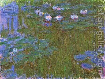 Water Lilies54 by Claude Oscar Monet - Reproduction Oil Painting