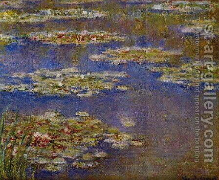 Water Lilies55 by Claude Oscar Monet - Reproduction Oil Painting