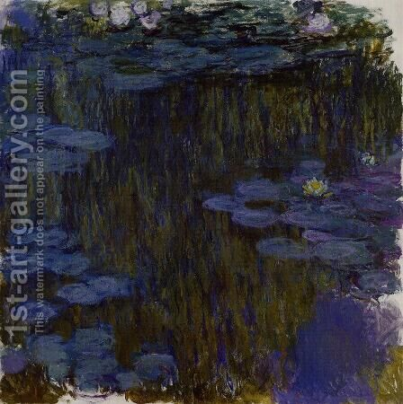 Water Lilies57 by Claude Oscar Monet - Reproduction Oil Painting