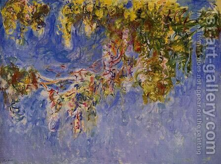 Wisteria2 by Claude Oscar Monet - Reproduction Oil Painting