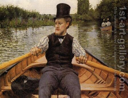 Boating Party by Gustave Caillebotte - Reproduction Oil Painting