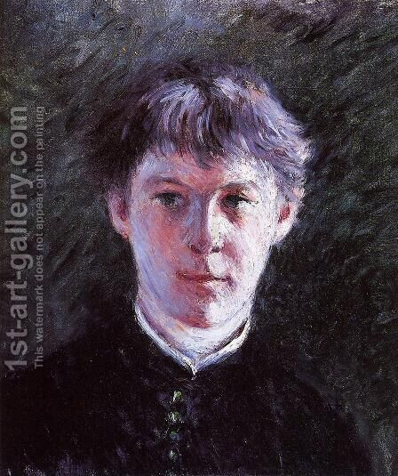 Portrait Of A Schoolboy by Gustave Caillebotte - Reproduction Oil Painting