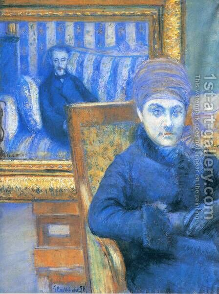 Portrait Of Madame X by Gustave Caillebotte - Reproduction Oil Painting