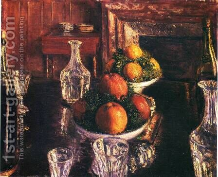 Still Life by Gustave Caillebotte - Reproduction Oil Painting