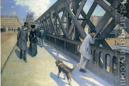 The Pont Du Europe by Gustave Caillebotte - Reproduction Oil Painting