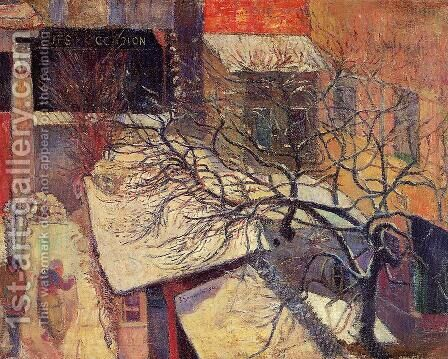 Paris In The Snow by Paul Gauguin - Reproduction Oil Painting