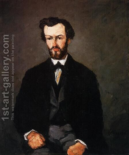Anthony Valabregue by Paul Cezanne - Reproduction Oil Painting