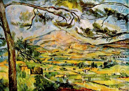 Mont Sainte Victoire (Courtauld) by Paul Cezanne - Reproduction Oil Painting