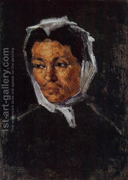 The Artists Mother by Paul Cezanne - Reproduction Oil Painting