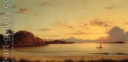 Dawn by Martin Johnson Heade - Reproduction Oil Painting