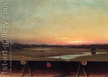 Gremlins In The Studio  I by Martin Johnson Heade - Reproduction Oil Painting