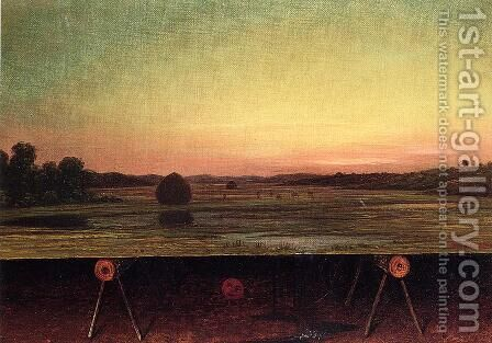 Gremlins In The Studio  II by Martin Johnson Heade - Reproduction Oil Painting