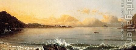 Harbor Scene Rio De Janeiro by Martin Johnson Heade - Reproduction Oil Painting