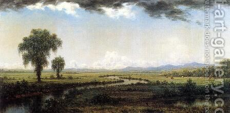 Storm Clouds Over The New Jersey Marshes by Martin Johnson Heade - Reproduction Oil Painting