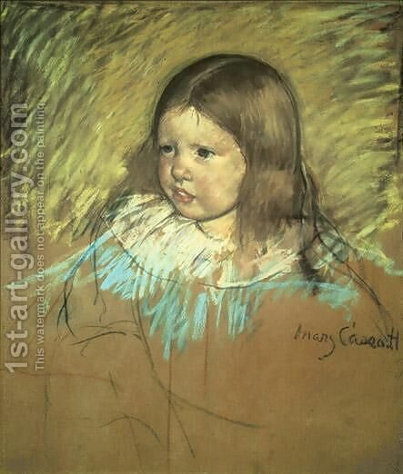 Margaret Milligan Sloan by Mary Cassatt - Reproduction Oil Painting
