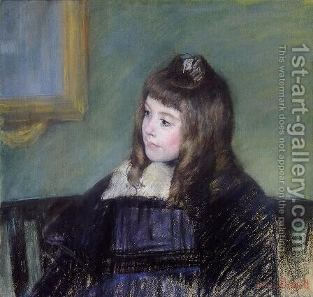 Marie Therese Gaillard by Mary Cassatt - Reproduction Oil Painting