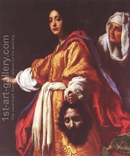 Judith with the Head of Holofernes 1613 by Cristofano Allori - Reproduction Oil Painting