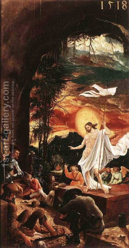 The Resurrection of Christ 1516 by Albrecht Altdorfer - Reproduction Oil Painting