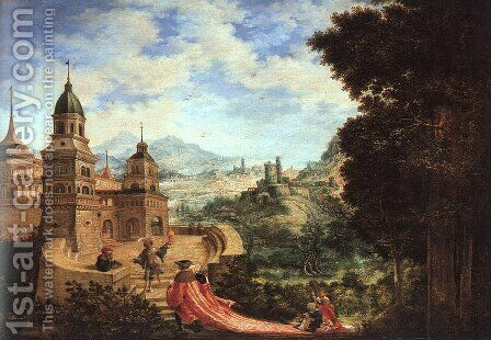 Allegory, 1531 by Albrecht Altdorfer - Reproduction Oil Painting