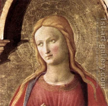 Cortona Polyptych (detail 4) 1437 by Angelico Fra - Reproduction Oil Painting