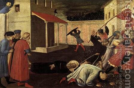 The Martyrdom of St Mark 1433 by Angelico Fra - Reproduction Oil Painting