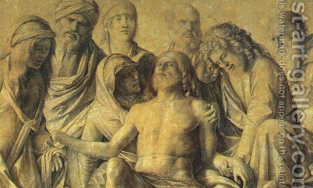 The Lamentation over the Body of Christ c. 1500 by Giovanni Bellini - Reproduction Oil Painting