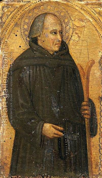 Blessed Gerard of Villamagna by Bicci Di Lorenzo - Reproduction Oil Painting