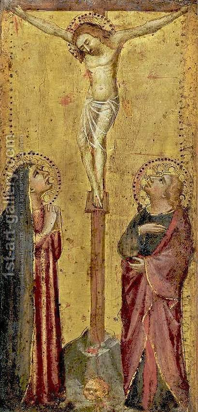 Crucifixion by Bicci Di Lorenzo - Reproduction Oil Painting