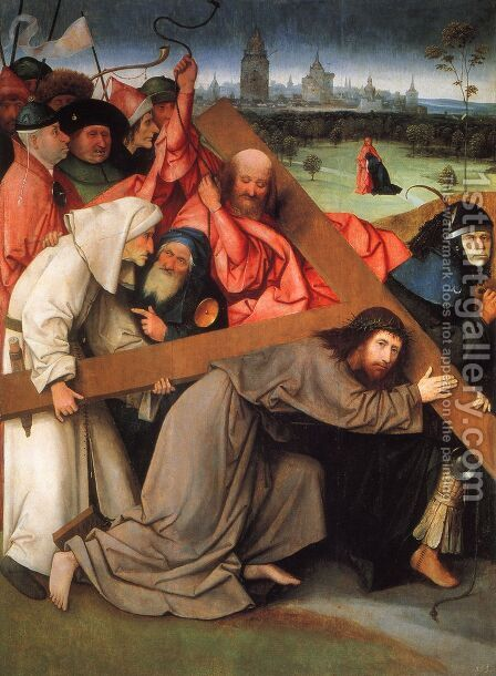 Christ Carrying the Cross by Hieronymous Bosch - Reproduction Oil Painting