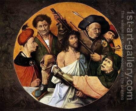 Christ Crowned with Thorns by Hieronymous Bosch - Reproduction Oil Painting