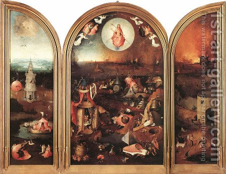 Last Judgement by Hieronymous Bosch - Reproduction Oil Painting