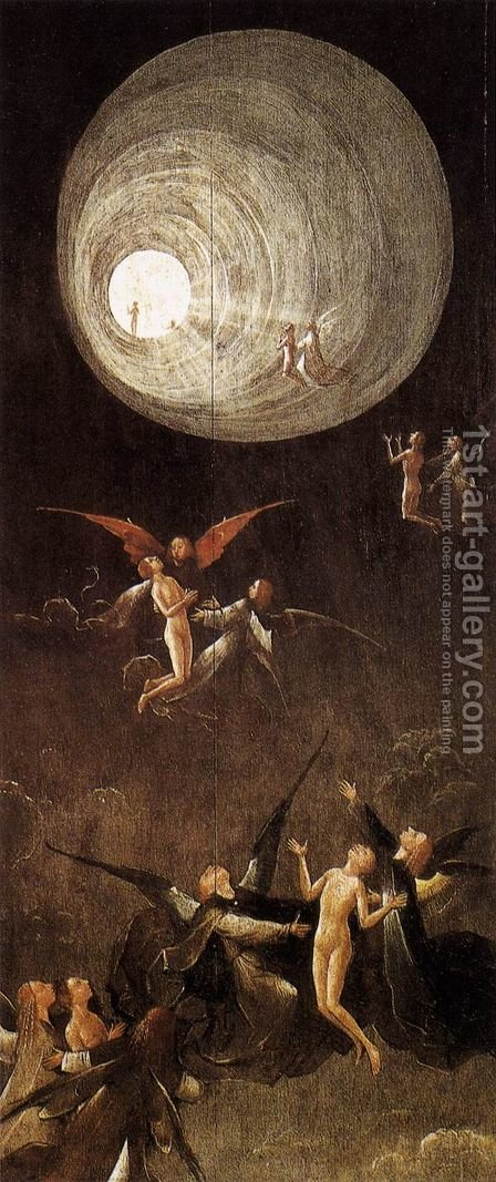 Paradise- Ascent of the Blessed by Hieronymous Bosch - Reproduction Oil Painting