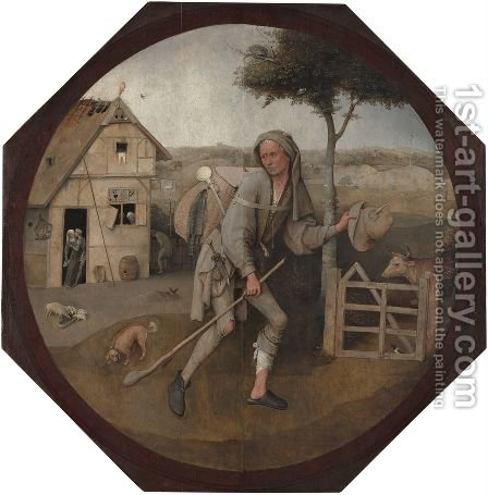 The Wayfarer by Hieronymous Bosch - Reproduction Oil Painting