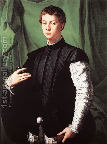 Portrait of Ludovico Capponi 1551 by Agnolo Bronzino - Reproduction Oil Painting
