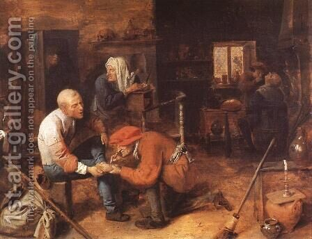 The Operation by Adriaen Brouwer - Reproduction Oil Painting