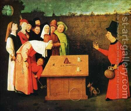 The Conjuror by Hieronymous Bosch - Reproduction Oil Painting