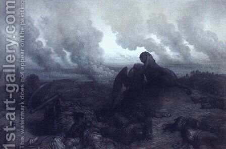 The Enigma 1871 by Gustave Dore - Reproduction Oil Painting