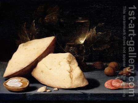 Still-Life by Jacob Fopsen van Es - Reproduction Oil Painting