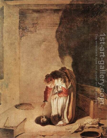Parable of the Lost Drachma 1618-22 by Domenico Fetti - Reproduction Oil Painting