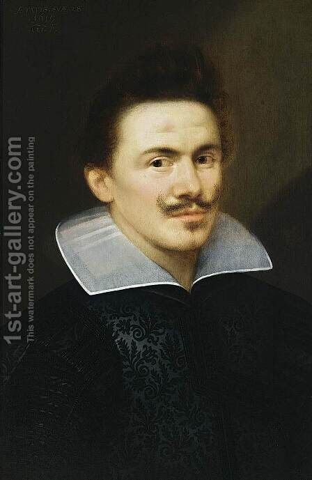 Portrait of a Man 1619 by Gortzius Geldorp - Reproduction Oil Painting