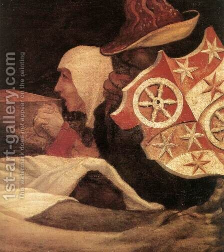 Lamentation of Christ (detail 2) c. 1523 by Matthias Grunewald (Mathis Gothardt) - Reproduction Oil Painting