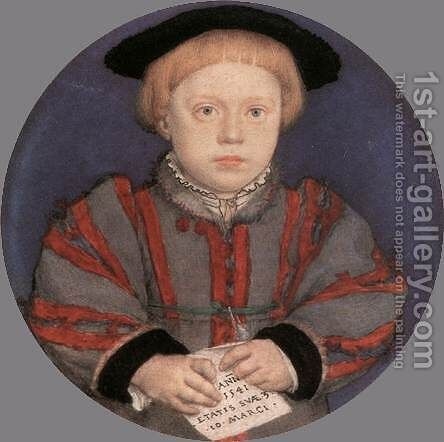 Henry Brandon 1541 by Hans, the Younger Holbein - Reproduction Oil Painting