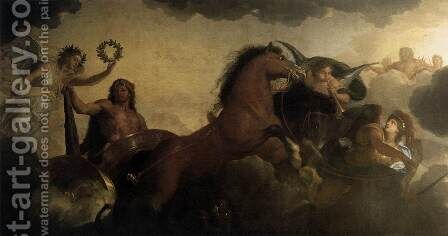Hercules (detail) 1658-61 by Charles Le Brun - Reproduction Oil Painting