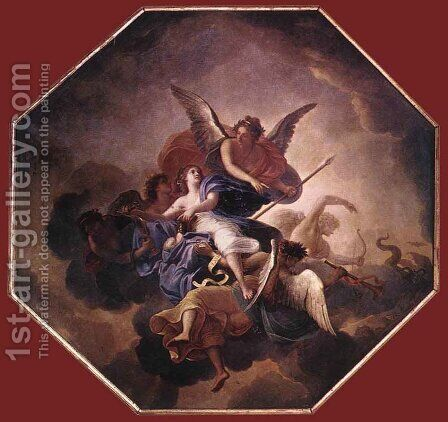 The Triumph of Faith  1658-60 by Charles Le Brun - Reproduction Oil Painting