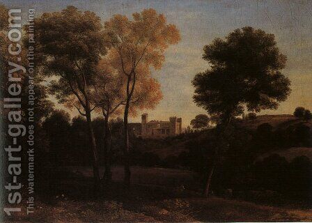 View of La Crescenza  1648-50 by Claude Lorrain (Gellee) - Reproduction Oil Painting