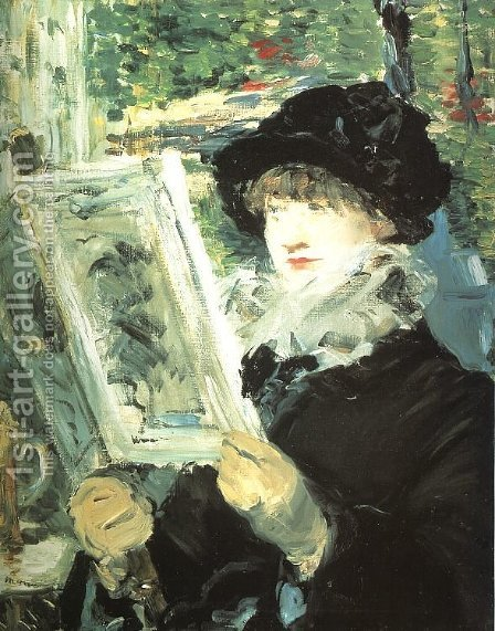 Le Journal Illustre  1878-79 by Edouard Manet - Reproduction Oil Painting