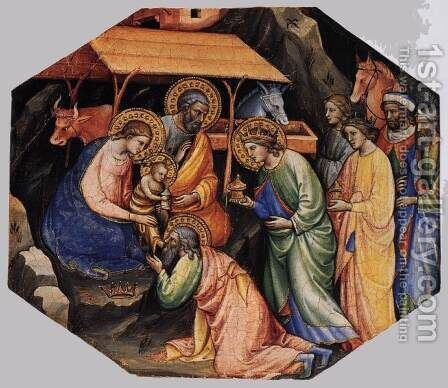 Scenes from the Life of Christ (3) by Mariotto Di Nardo - Reproduction Oil Painting